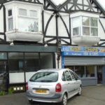 LOCK UP SHOP WITH FORECOURT IN VILLAGE PARADE, MERSTHAM