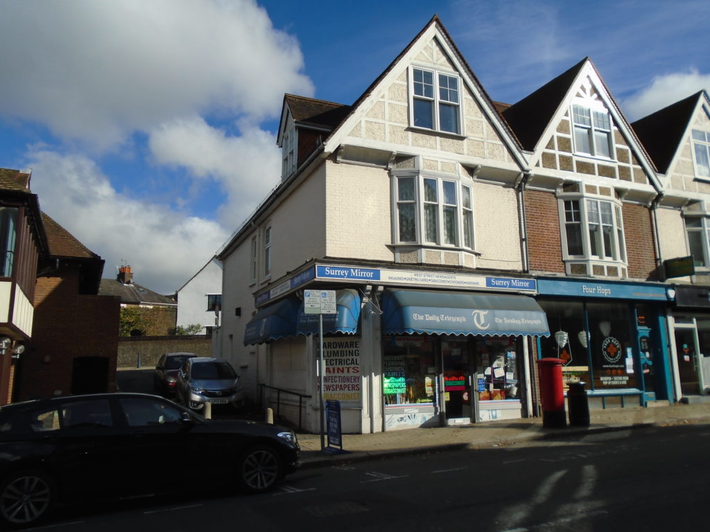 Ground Floor Shop and 3 Bed Maisonette, Reigate For Sale