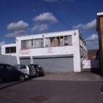 B1 Premises with showroom, workshops, offices and parking