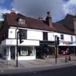 High Street, Reigate Shops and Flat investment